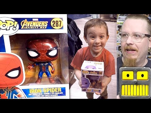 Funko Pop Hunting At Forbidden Planet On Free Comic Book Day