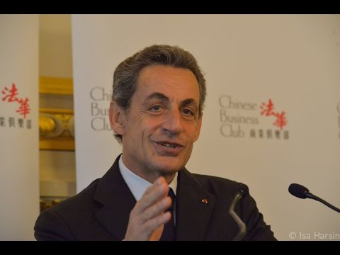 Nicolas Sarkozy au Chinese Business Club