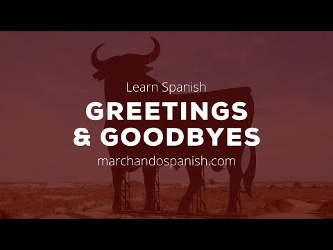 Introductions in Spanish - Meeting and greeting in Spanish