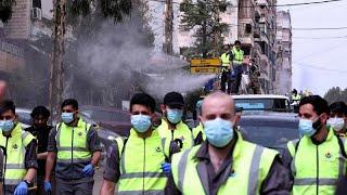 شاهد: حزب الله اللبناني يتجنّد بالآلاف في مواجهة كورونا بتطهير الضاحية الجنوبية …