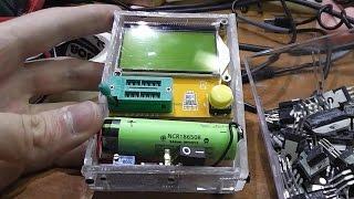 Посылка из Китая. Transistor Tester/ESR Meter + установка в самодельный корпус