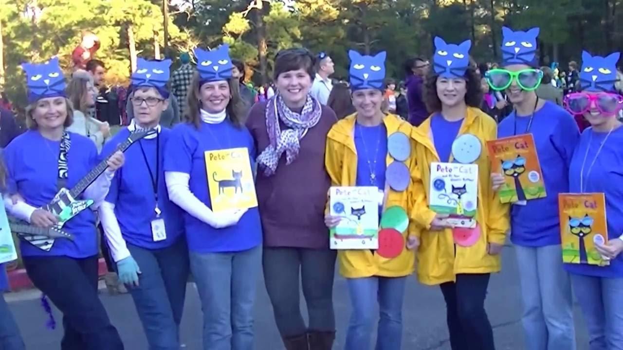 Oak Grove Elementary Halloween Parade 2015