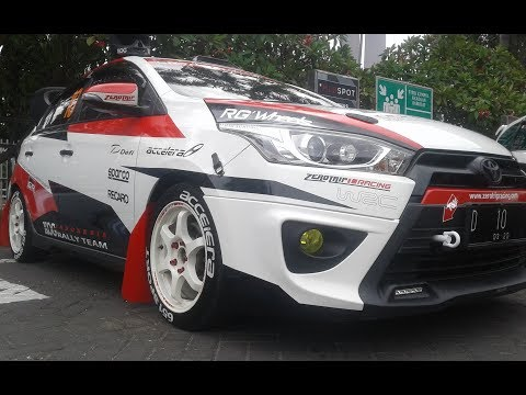 Racing Style All New Yaris Modification Rally Car