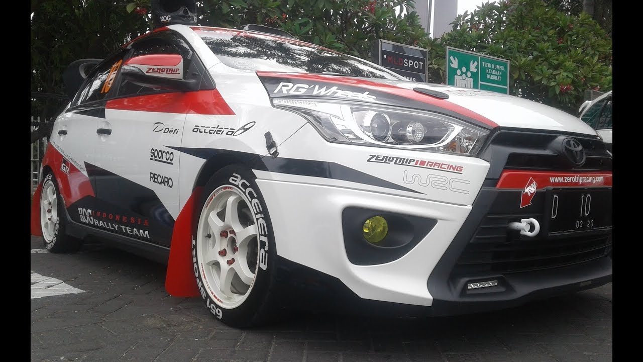ukuran velg all new yaris trd harga baru grand avanza 2016 racing style modification rally car youtube