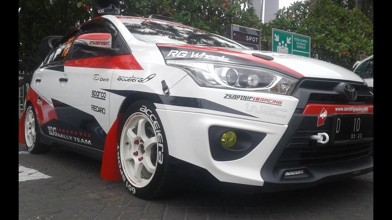 Ukuran Velg All New Yaris Trd Konsumsi Bbm Kijang Innova Diesel Racing Style Modification Rally Car Youtube