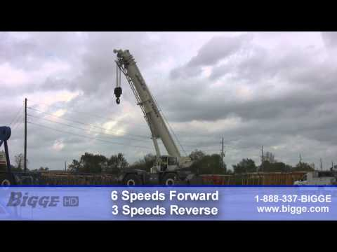 2007 Terex RT1120 Rough Terrain Crane For Sale - Bigge Crane And Rigging