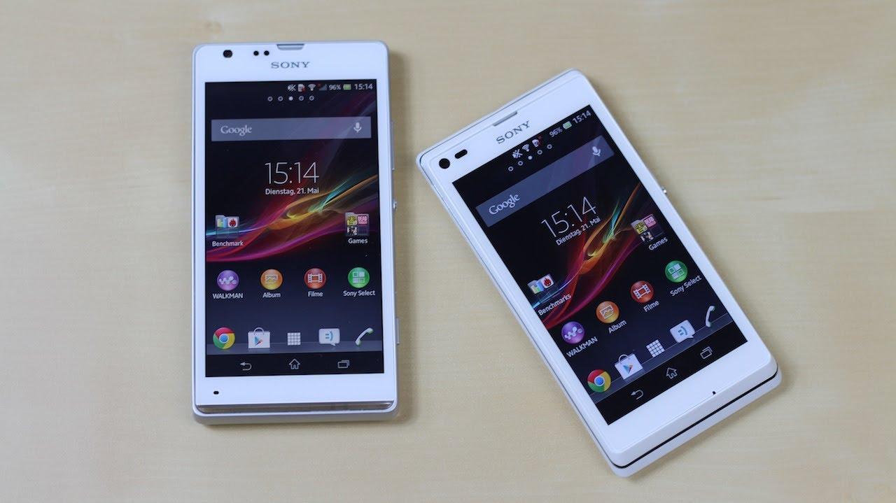 Sony xperia sp vs xperia l benchmark swagtab youtube reheart Choice Image