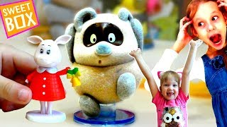 Милашки Винни Пух и все ИГРУШКИ Свинка ЛЕНТА! Обзор фигурок Свитбокс ВИННИ ПУХ для детей Sweet Box