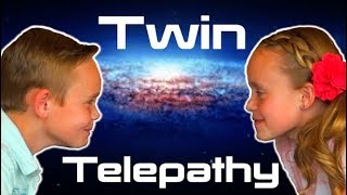 Twin Telepathy Team Challenge! Reading Each Other's Minds?