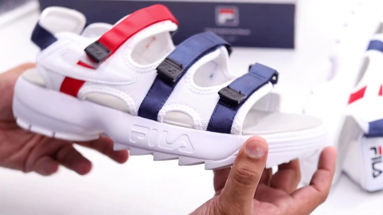 fila disruptor sd sandal