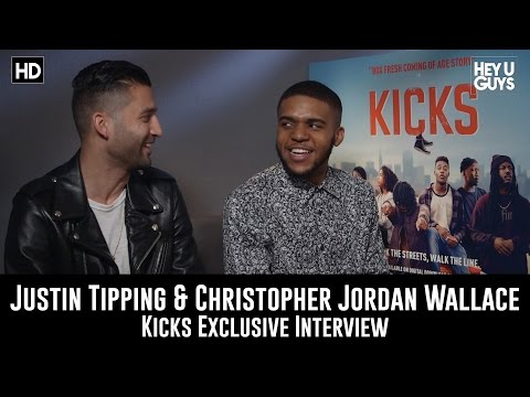 Justin Tipping & Christopher Jordan Wallace Exclusive  Kicks