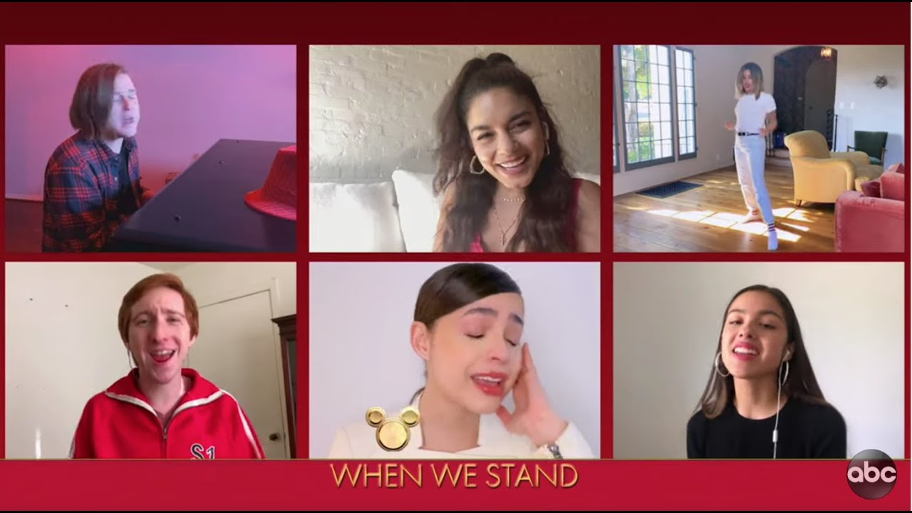 Download High School Musical Cast Performs 'We're All In This Together' - The Disney Family Singalong