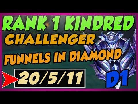 RANK ONE KINDRED IN NA ABUSES CHINESE BOOSTING STRATEGY - League of Legends thumbnail