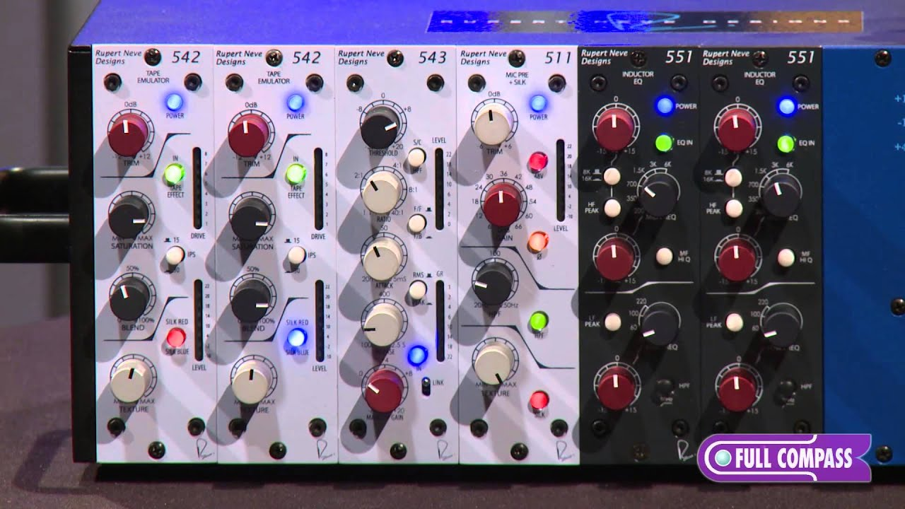 Rupert Neve Designs 511 500 Series Microphone Preamp Overview Full Preamplifier Based Tlc251 Compass Youtube