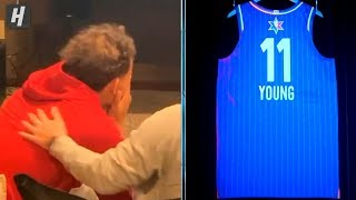Trae Young Gets EMOTIONAL When He Heard He Was an All-Star Starter