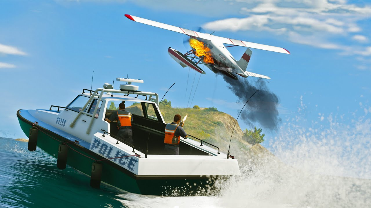 Unexpected Police Raid - GTA 5 Action movie