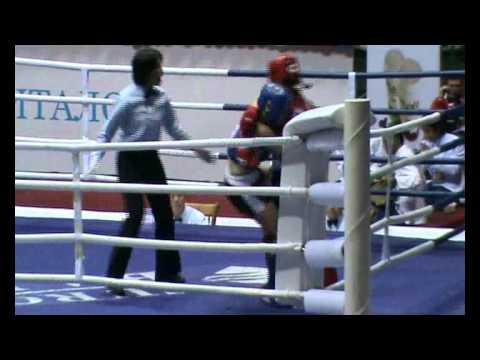 Valentina Shevchenko(Peru) vs Alfia Ishtryakova (Russia).Campeonato Mundial de Muay Thai 2011