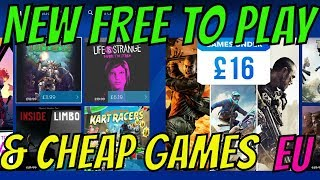 NEW PS4 FREE TO PLAY GAME RELEASED! Super Cheap Games Under 9 PSN eu