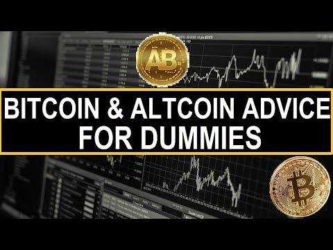 Bitcoin & AltCoin Advice For Dummies | AltCoin Buzz