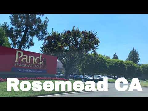 🔴  Rosemead Realtor Driving Tour 4K
