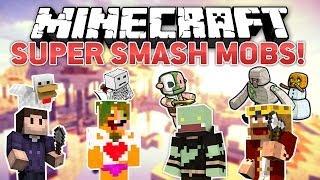 Verfolgungsjagd! Minecraft SUPER SMASH MOBS! mit Zombey, MrMore & OSaft  | ungespielt