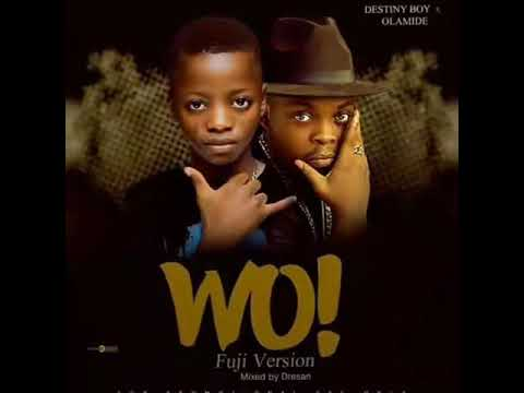 Destiny Boy - Wo Olamide Cover (Official Audio)