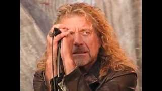 """Robert Plant and the Band of Joy playing """"Thank You"""" Live at Hardly Strictly Bluegrass"""
