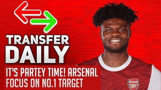 IT'S PARTEY TIME! Arsenal Focus On No.1 Target | AFTV Transfer Daily