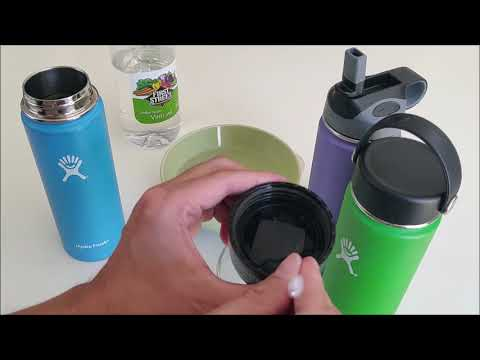 How to Clean Hydro Flask Lid and Replace its Gasket - Bottle Helpers