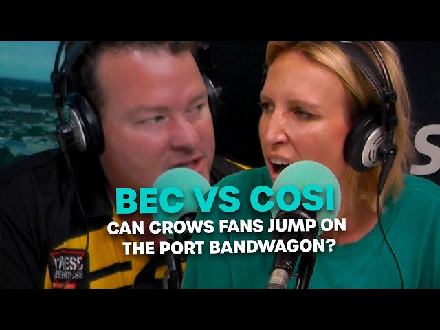 BEC VS COSI: Can Crows Fans Jump On The Port Bandwagon? | Bec Cosi & Lehmo