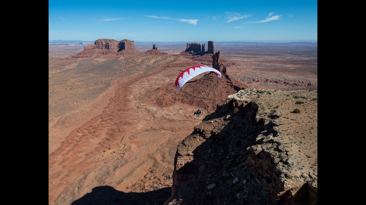 Paramotor Monument Valley!!!!! Powered Paragliding Up Close And Personal  With World Class Views!!