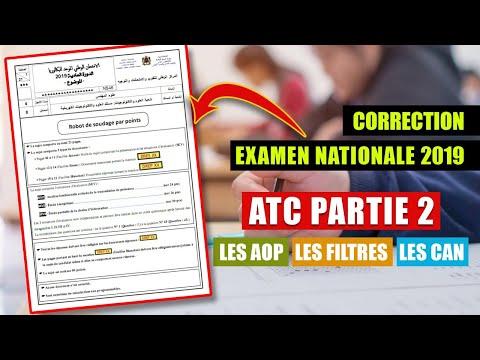 Corr_EN_2019_PART 7_ATC_PARTIE 2_les AOP_Les filtres_Les CAN