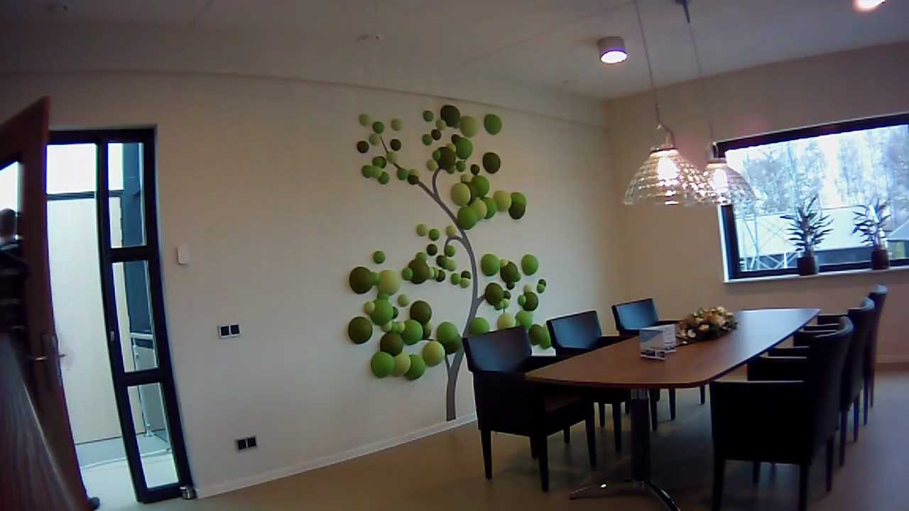 3d Tree wall decoration - YouTube