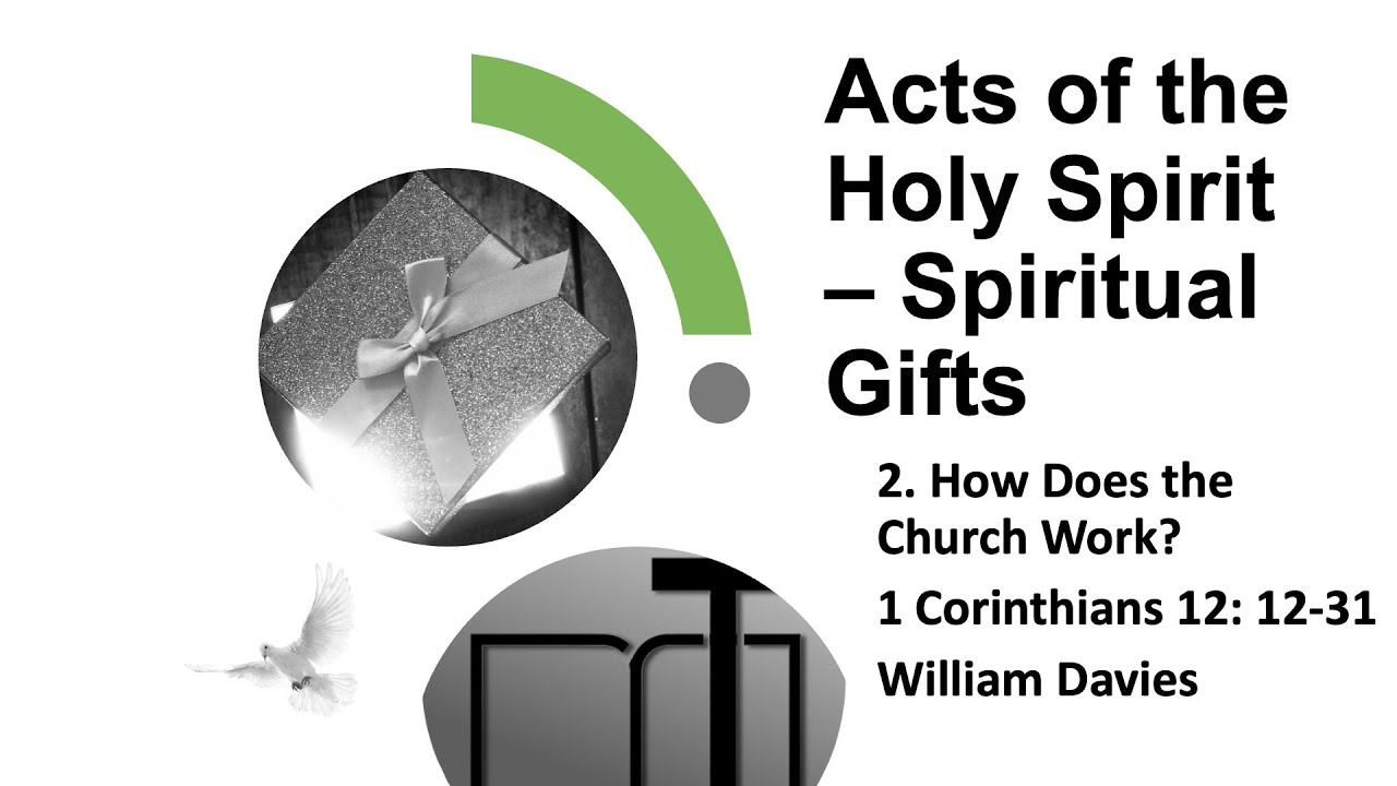 17 October 2021   Spiritual Gifts 2