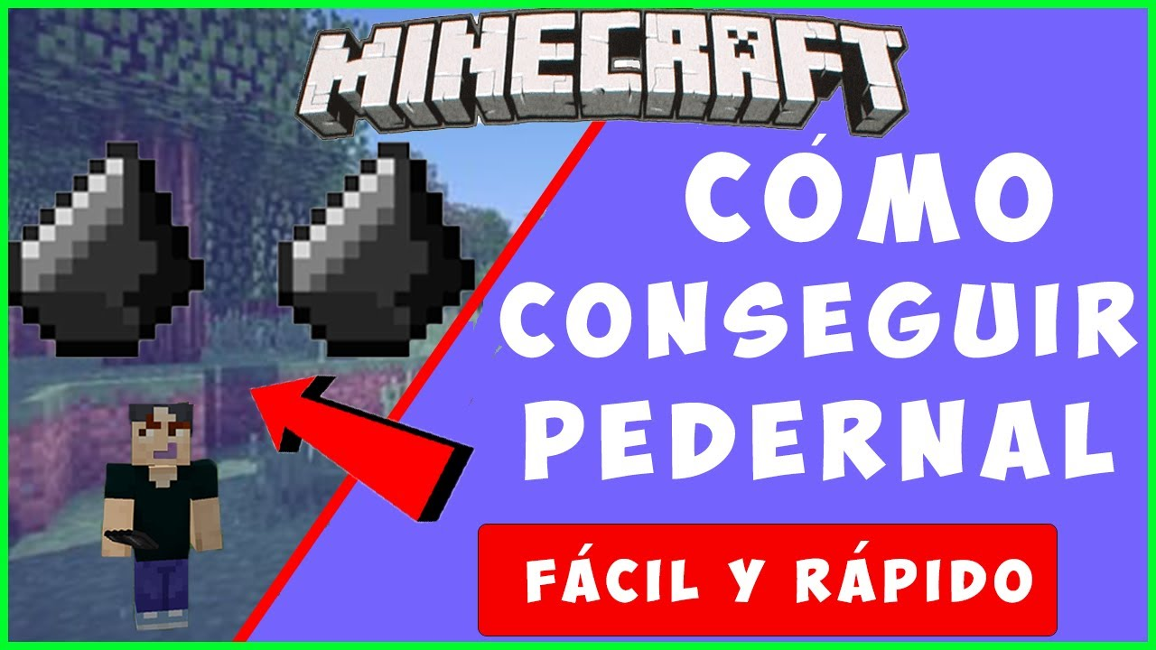 Download 💥✅CÓMO CONSEGUIR PEDERNAL en MINECRAFT - 😲FÁCIL Y RÁPIDO -Tutorial Minecraft