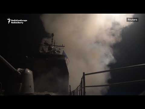 U.S. Video From Military Strike On Syria