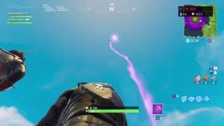 FORTNITE FINAL FLOATING ISLAND LIVE EVENT, Cube shooting light into sky
