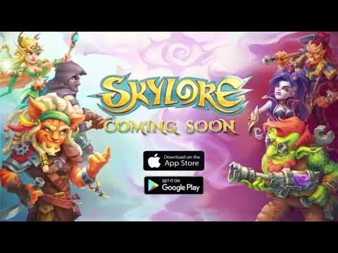 Skylore - Мобильная MMORPG от Российских разработчиков!