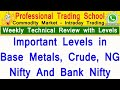 Technical Analysis For This Week Market Levels |Metals | Energy | Nifty | Bank Nifty  Tamil | PTS