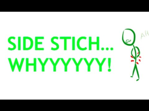 WHY DOES YOUR SIDE HURT WHEN YOU RUN? The dreaded side stitch explained!