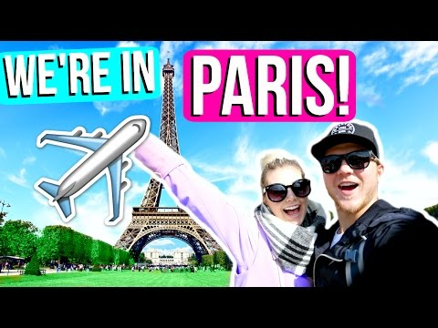 BEING TOURISTS IN PARIS!