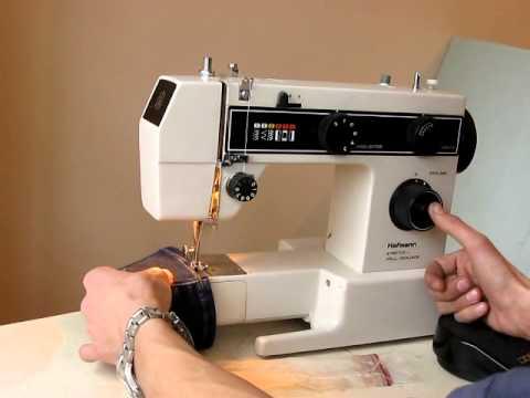 Sewing machine hofmann stretch voll - Machine a coudre stretch ...