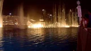 Поющие фонтаны в Дубае видео рядом с Бурдж-Халифа(The Dubai Fountain., 2016-08-24T16:07:54.000Z)