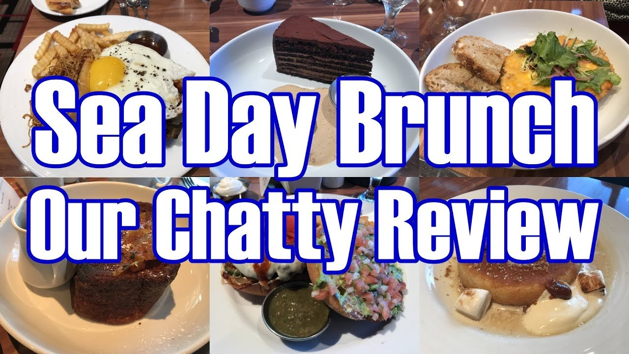 """Eating Our Way Through The New Sea Day """"American Brunch"""