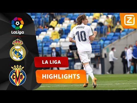 MODRIĆ SCHIET DE BAL HEERLIJK BINNEN! 😍   Real Madrid Vs Villarreal   La Liga 2020/21   Samenvatting