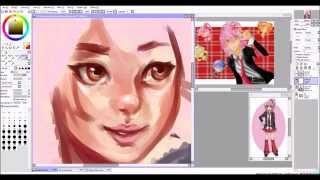 SAI Speedpaint: Hinamori Amu
