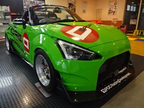 Daihatsu Copen Race Car May 2015 Tokyo Youtube