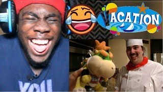 SML Movie: Bowser Junior's Big Vacation! by superbowserlogan REACTION!!!