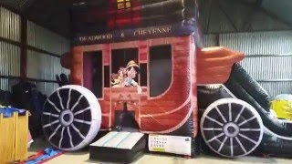 Video Airmax Inflatables - Inflatable Stage Coach Bounce & Slide download MP3, 3GP, MP4, WEBM, AVI, FLV Oktober 2018