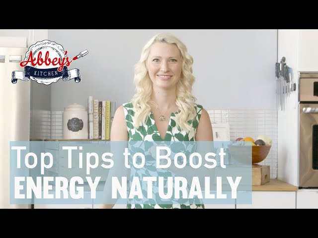 A Dietitian's 5 Top Tips to BOOST ENERGY Naturally without Coffee, Tea or Caffeine